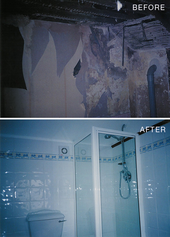 Before & After Bathroom Epsom